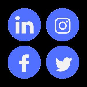 icon, social media, linkedin